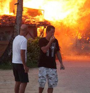 Survivor da yangın çıktı! Acun ölümden döndü!