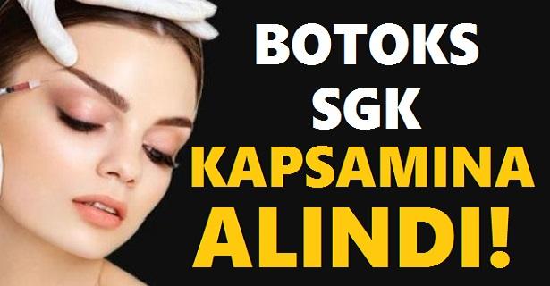 BOTOKS SGK KAPSAMINA ALINDI