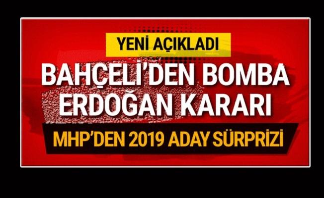 Bahçeli: MHP, 2019'da Erdoğan'ı destekleyecek