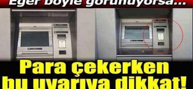 ATM'de işlem yapanları bekleyen 5 tehlike!