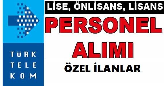 Türk Telekom Lise Mezunu Personel Alımı 2018