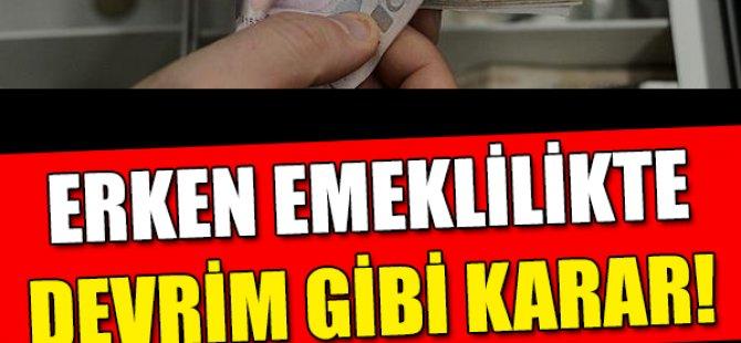 EKSİK PRİMLE EMEKLİLİK ŞANSI!