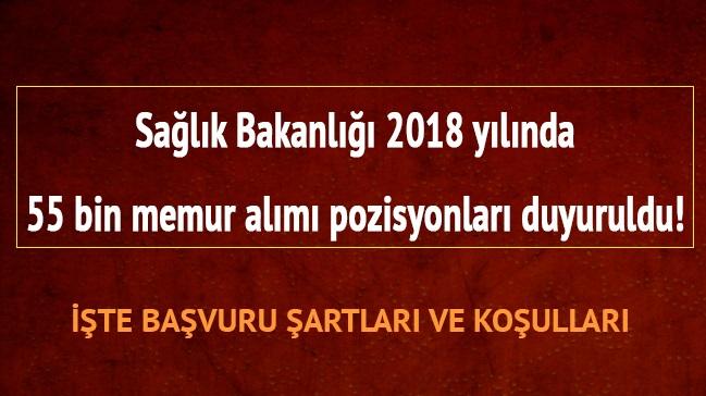 Sağlık Bakanlığı 2018 PERSONEL ALIMLARI