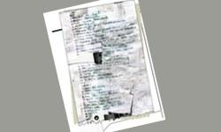 Şüpheleri güçlendiren kağıt