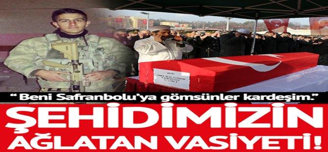 """Kıdemli Çavuş Ömer Bilal Akpınar'ın ağlatan vasiyeti! """""""