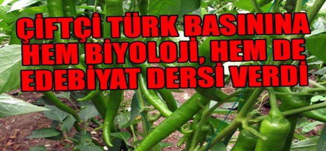 Çiftçi, Türk basınını zekasıyla dövdü