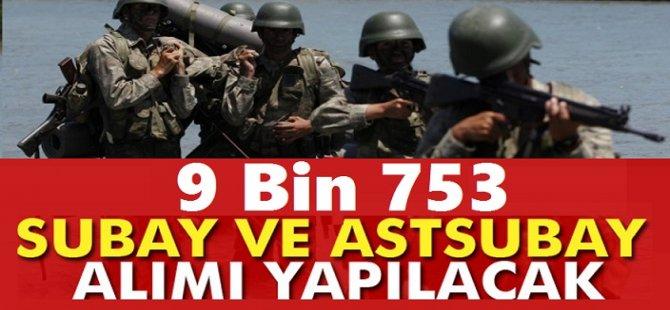 9 Bin Subay Astsubay Alımları 15 Şubat 2018 Sona Eriyor