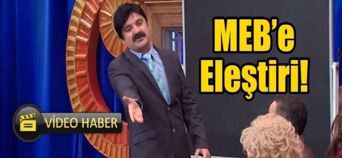 Güldür Güldür Show öğretmen performans değerlendirmesini eleştirdi