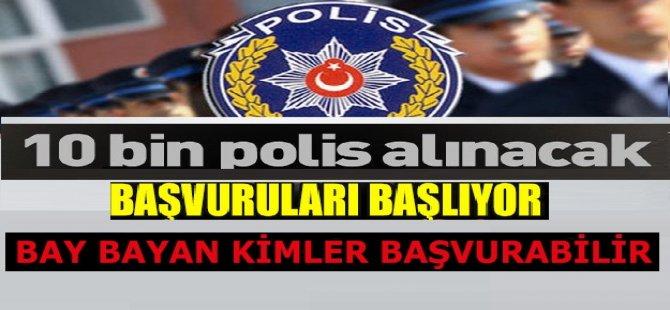 10 BİN POLİS ALIMI İLAN KILAVUZU