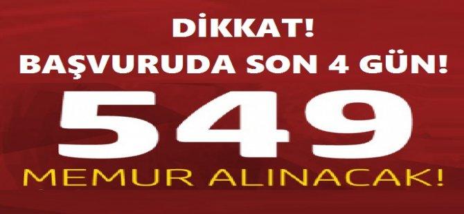 YSK 549 Memur Alımı Başvuruları Devam Ediyor