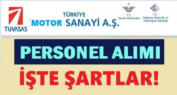 Türkiye Motor Sanayi Personel Alım İlanı 2018