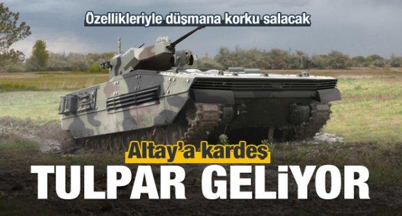 """Altay'a kardeş """"TULPAR"""" geliyor"""