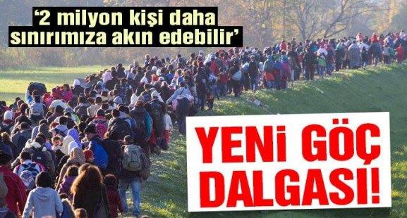 Türkiye'ye yeni göç dalgası geliyor! 2 milyon kişi..