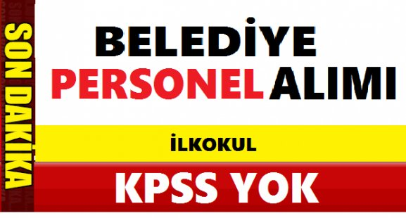 Tuzluca Belediye Başkanlığı 6 İşçi Alacak