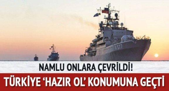 Türkiye 'Hazır ol' konumuna geçti! Namlu onlara çevrild