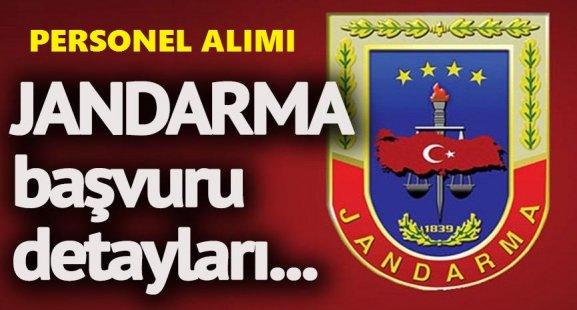 Jandarma Alay Komutanlığı Personel Alımı İlanı Yayımladı