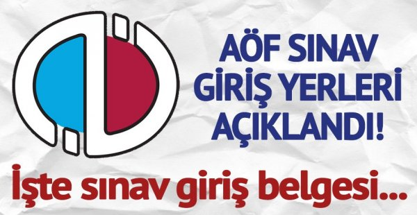 Anadolu Üniversitesi Sınav Giriş Belgesi Sorgulama