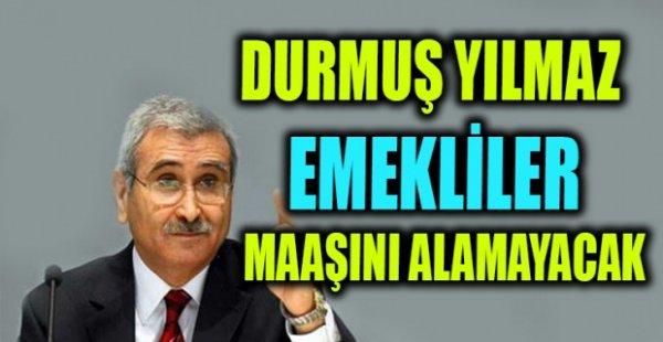 Durmuş Yılmaz Ankara'da Türkiye Dayanışma Fonu konulu programda konuştu.