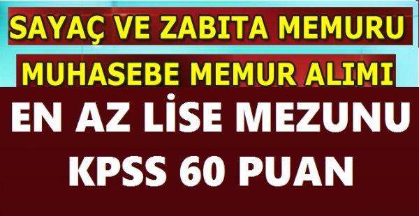 Tutak Belediyesi Zabıta, Muhaseci, Mühendis, Sayaç memuru alımı