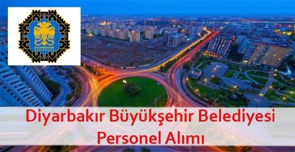 Diyarbakır Büyükşehir Belediyesi Daimi Şoför ve Basın Editörü Alacak
