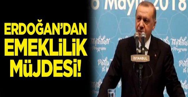 Son Dakika.. Erdoğan'dan Emeklilik Müjdesi Geldi!