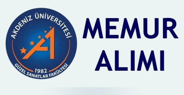 Akdeniz Üniversitesi 9 Ağustos 2019 Tarihine kadar Diyetisyen, Bulaşıkçı ve Aşçı Alımı