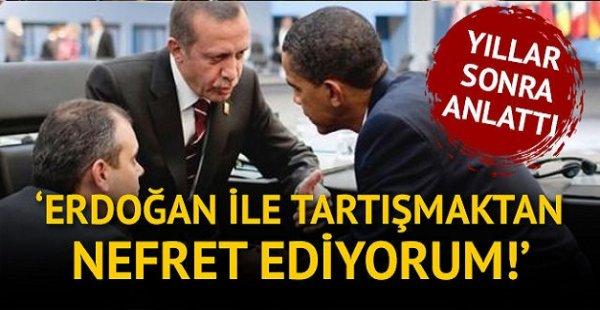 Yıllar Sonra Anlattı Erdoğan ile arasında geçen olayları anlattı