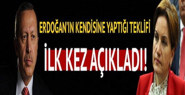 Erdoğan'ın Kendisine Yaptığı Teklifi İlk Kez Açıkladı