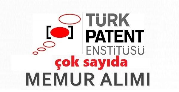 Türk Patent Kurumu Personel Alım İlanı