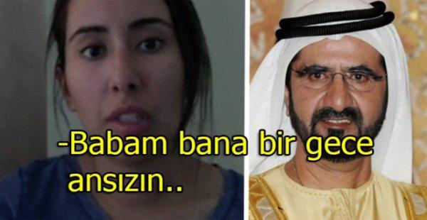 Birleşik Arap Emirlikleri Prensesinden Şok İtiraflar Geldi!
