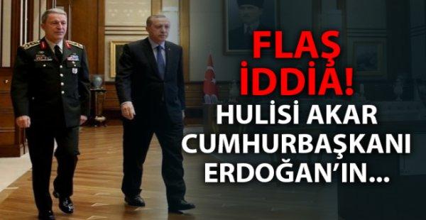 Hulusi Akar Cumhurbaşkanı Erdoğan'ın yardımcısı mı olacak?
