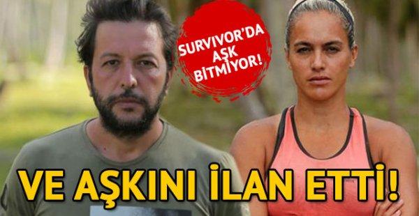 Survivor Birsen Bekgöz, Nihat Doğan'a aşkını ilan etti