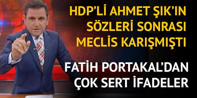 Fatih Portakaldan Dikkat çeken Ahmet şık Paylaşımı