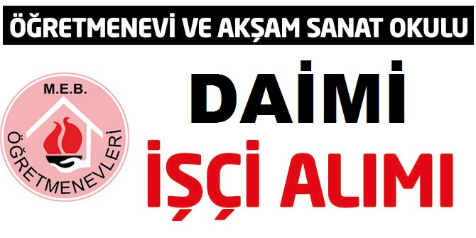Aksaray Eskil Öğretmenevi Kamu Personeli Alım ilanı