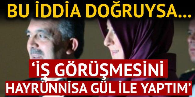köşk doktorundan gündemi sarsacak Hayrünnisa Gül iddiası!