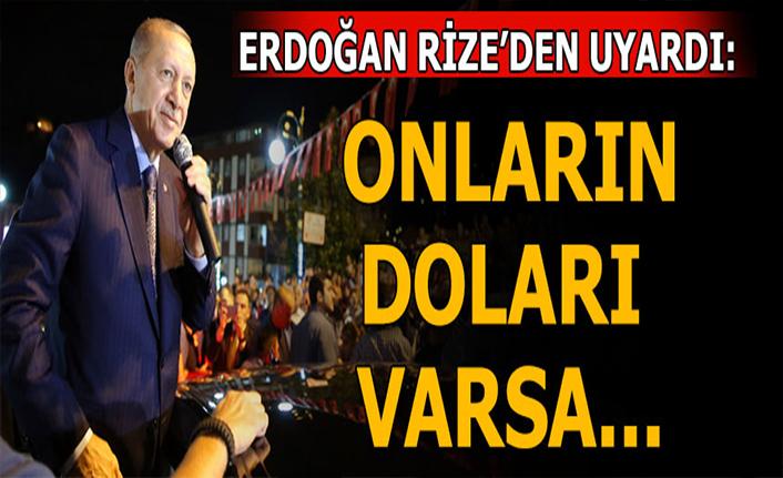 Cumhurbaşkanı Erdoğan'dan dolar mesajı!