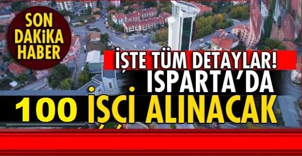 Demirel Üniversitesi 100 İşçi Personel Alım İlanı