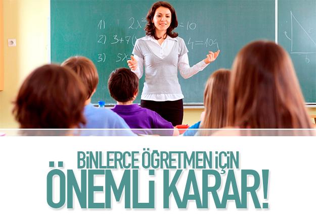 Doğuda görev yapan öğretmenlere müjde!