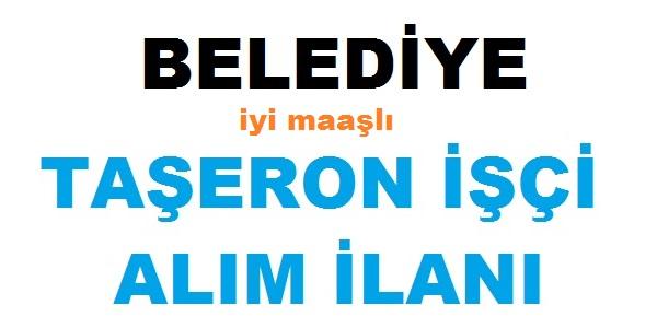 Mucur belediyesi Taşeron işçi ilanı yayınladı