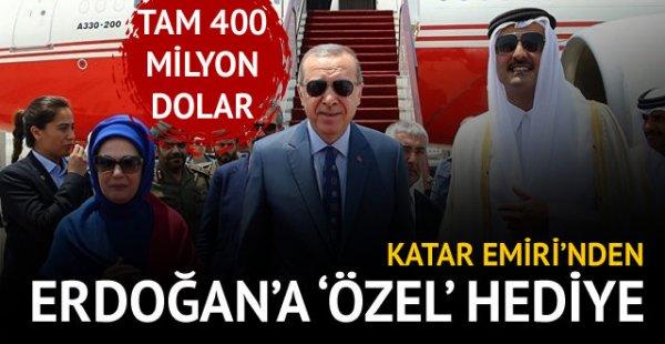 Cumhurbaşkanı Erdoğan'a büyük jest
