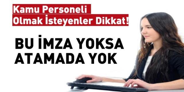 Memur atamaları da Erdoğan'ın imzasına bağlandı
