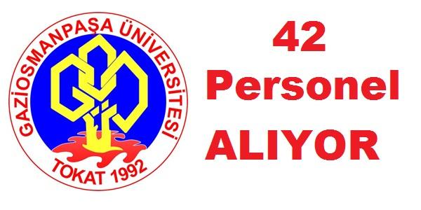 Gaziosmanpaşa Üniversitesi Sözleşmeli 42 Personel Alım İlanı (Eylül iş ilanları)