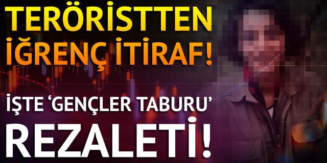 İşte PKK'dan kaçan teröristin itirafları