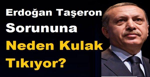 Erdoğan Taşeron Sorununa Neden Kulak Tıkıyor?