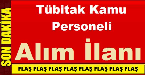 Marmara Tübitak Kamu Personeli Alım İlanı