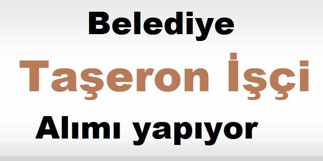 Ozan Belediyesi Taşeron İşçi Alımı