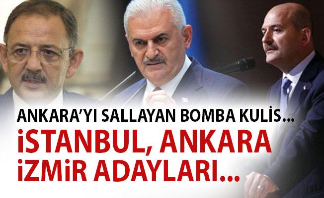 Flas! İste Ak Parti'nin İstanbul Ankara İzmir Belediye Başkan Adayları