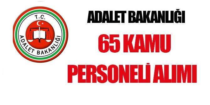 Adalet bakanlığı 65 Kamu Taşeron İşçisi Alım ilanı