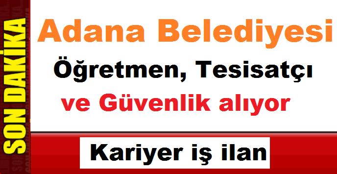 Adana Yüreğir Belediyesi 15 Kamu Personeli Alımı