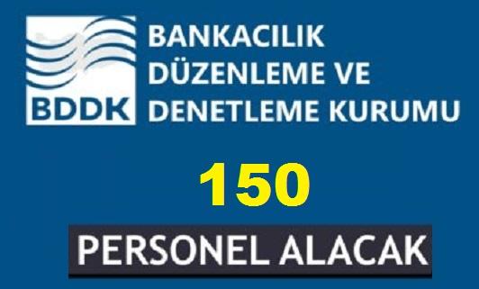 BDDK 150 Kamu Personeli Alımı İlanı